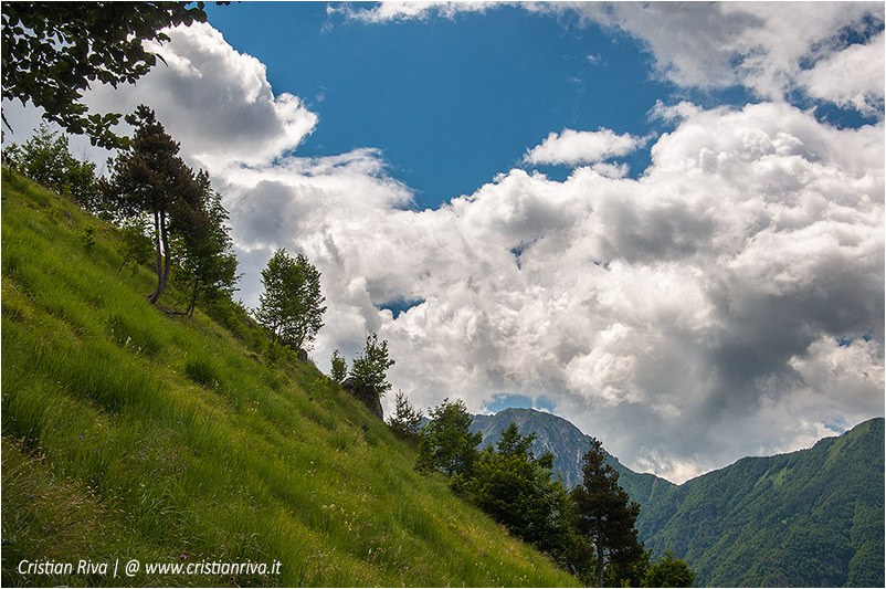 Pizzo di Cusio e Monte Disner: nuvole