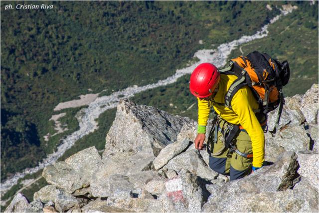 Sentiero dei Fiori: escursionista di Aprica
