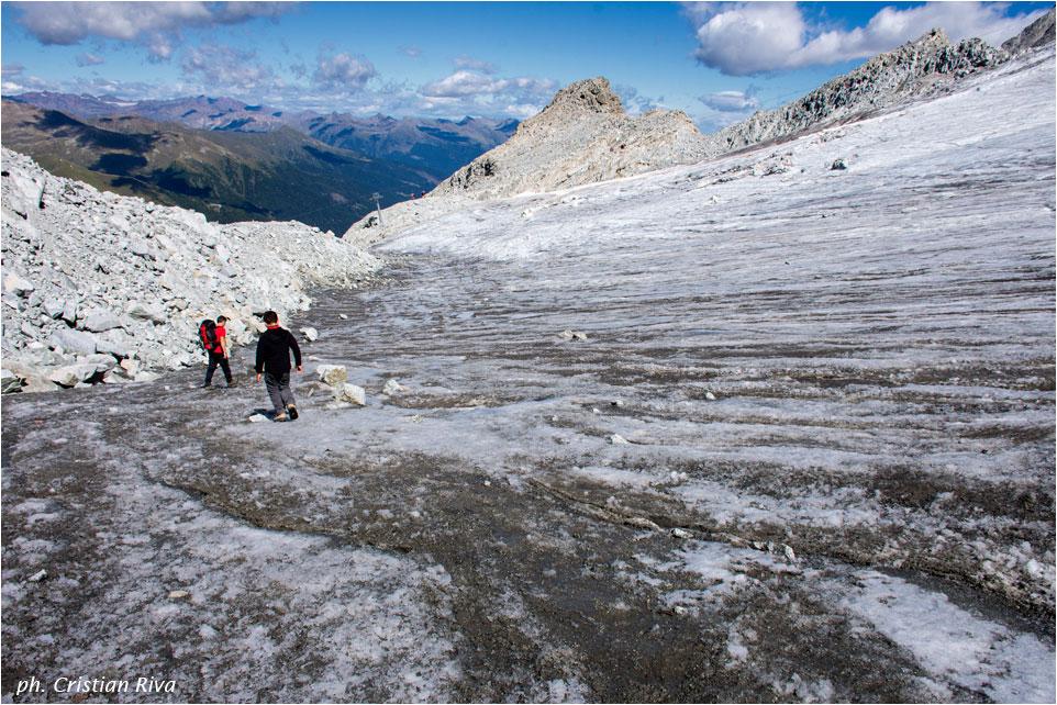 Sentiero dei Fiori: ghiacciaio Presena