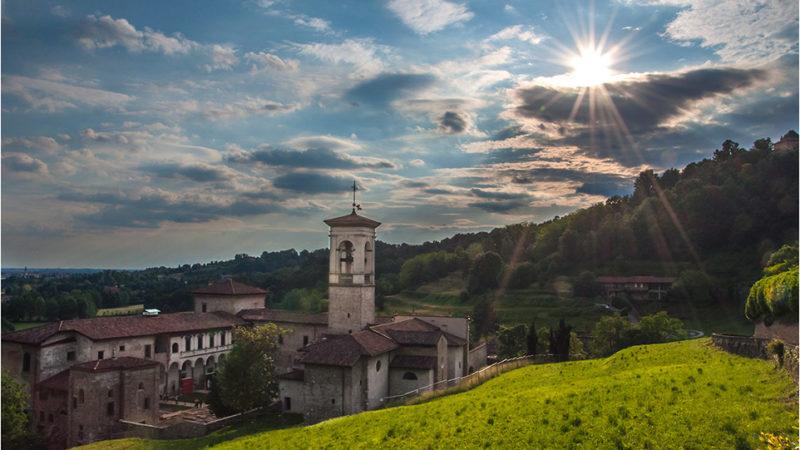 Val d'Astino, tra monastero e bosco dell'Allegrezza