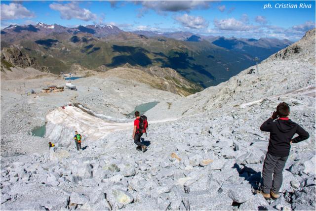 Sentiero dei Fiori: Yuri e Attilio del Rifugio Capanna 2000