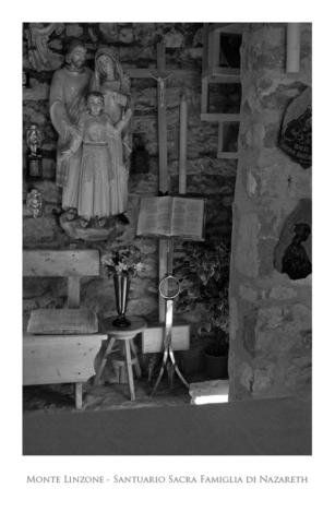 Monte Linzone: santuario Sacra Famiglia di Nazareth