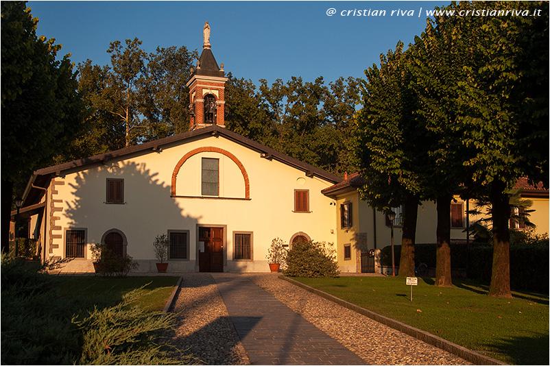 Bergamo, sentiero Ilaria: santuario Madonna della Castagna