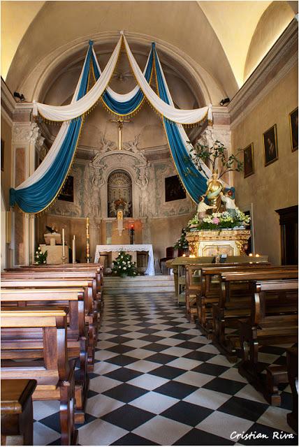 Bergamo, sentiero Ilaria: il santuario della Madonna della Castagna