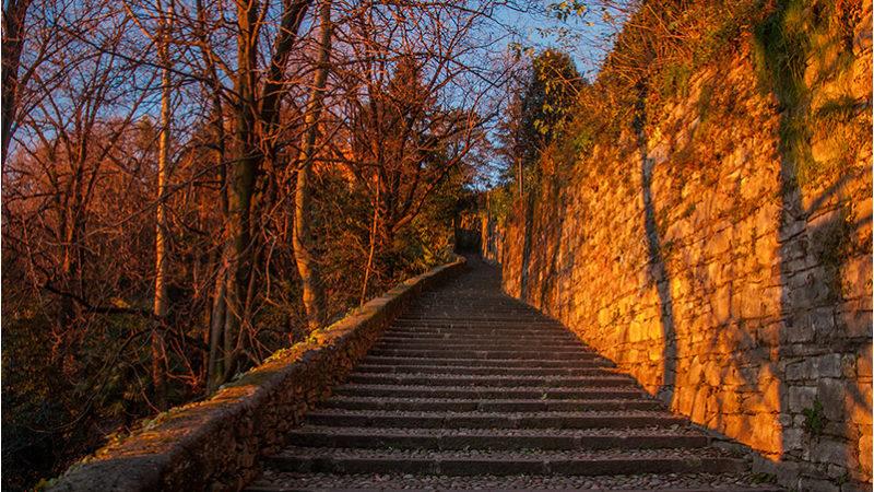 Bergamo - Salita della Scaletta
