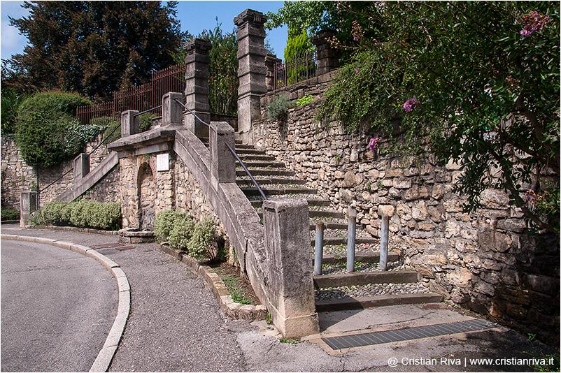 Bergamo, scaletta di Santa Lucia Vecchia
