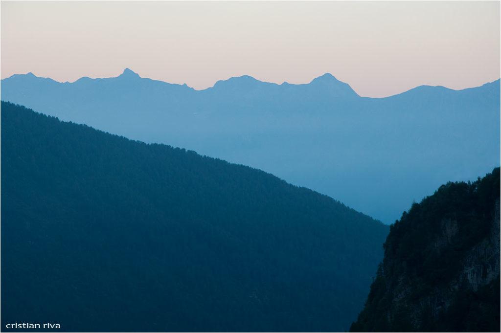 Monte Adamello via Terzulli: l'alba lungo le scale Miller