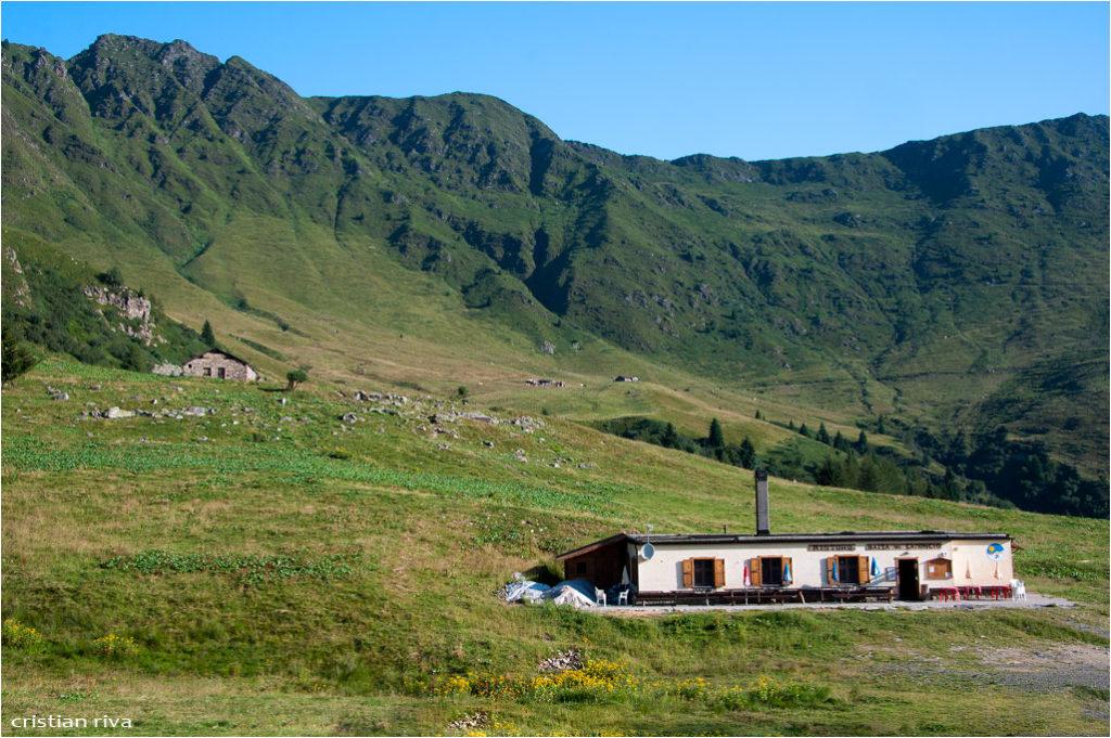 Monte Pegherolo: baita Camoscio