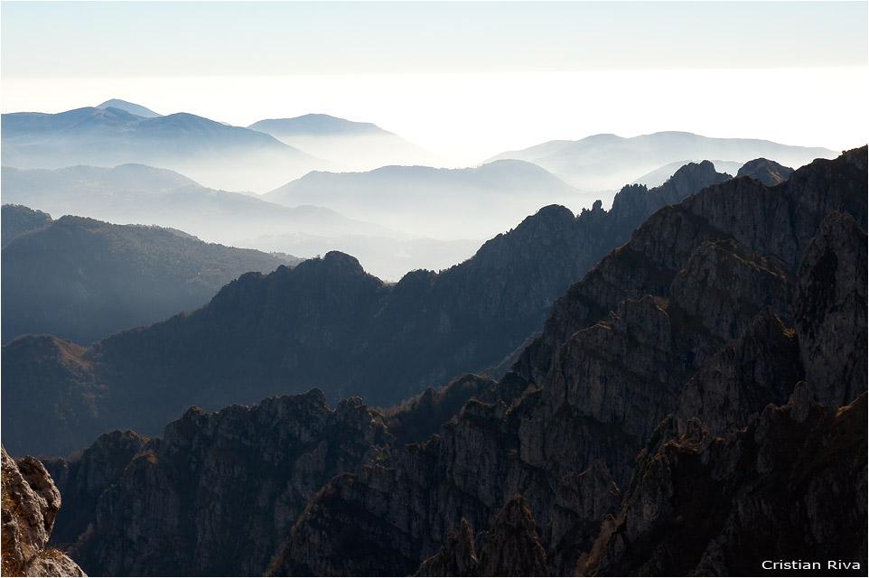 Escursione sul monte Alben: le quinte orobiche