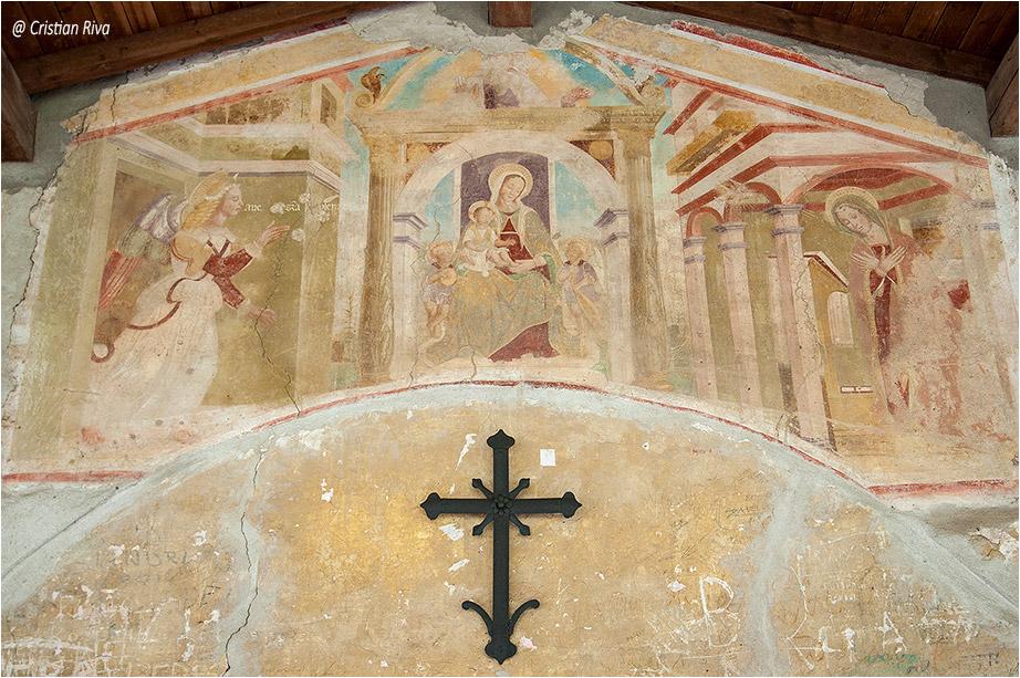 Grotte Valle Albina: santuario Madonna della Neve