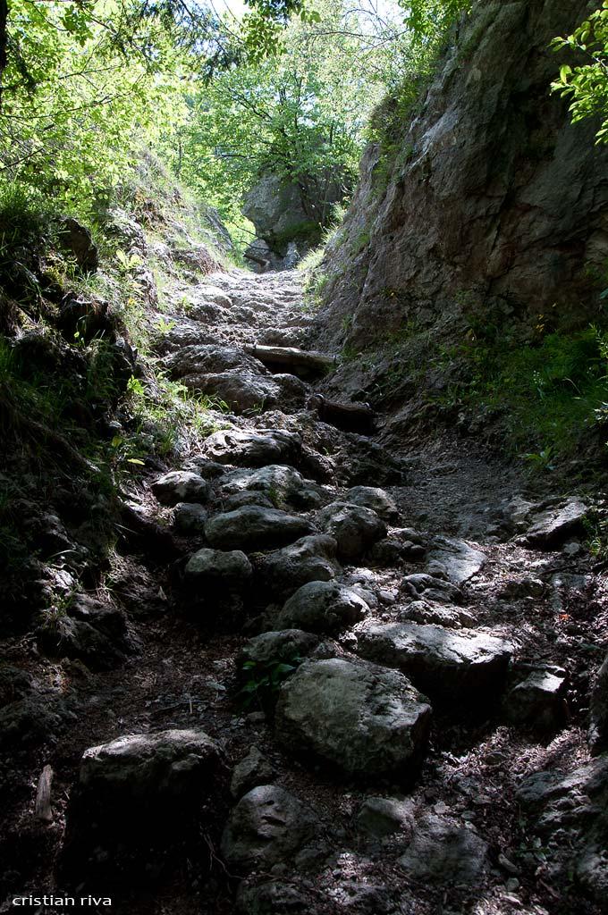 Corna Lunga dal Sentiero delle Fantasme