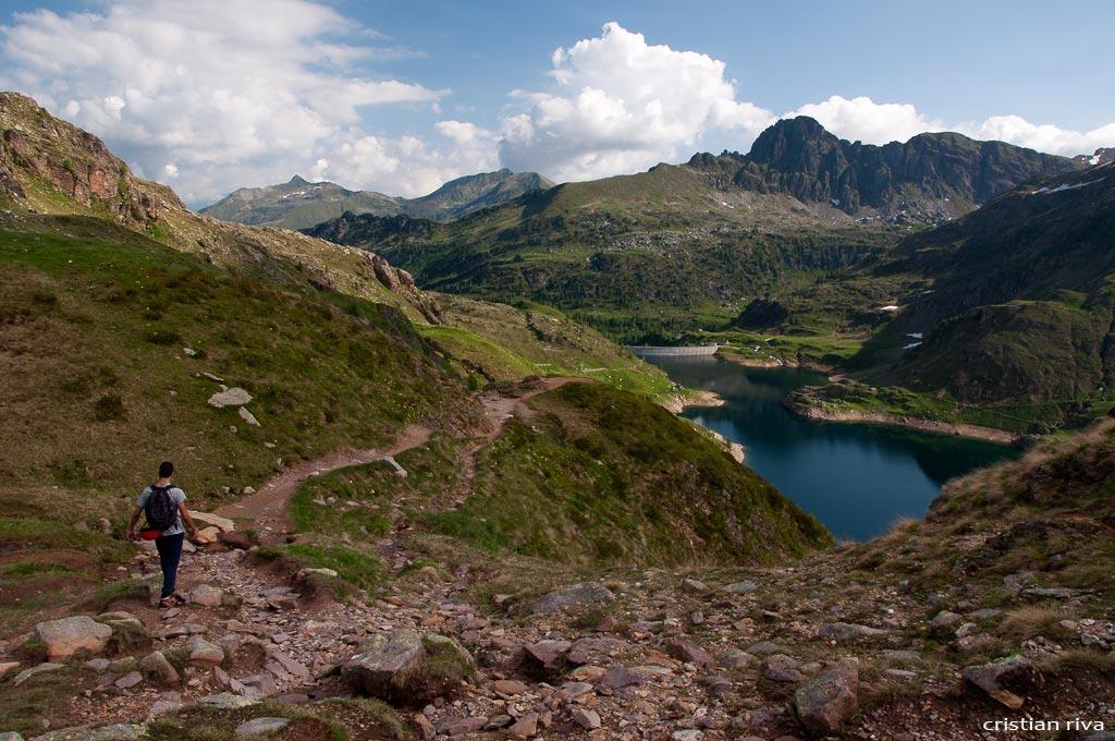 Escursione sul Pizzo Becco: i laghi Gemelli