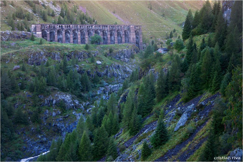 Monte Gleno: la diga del Gleno
