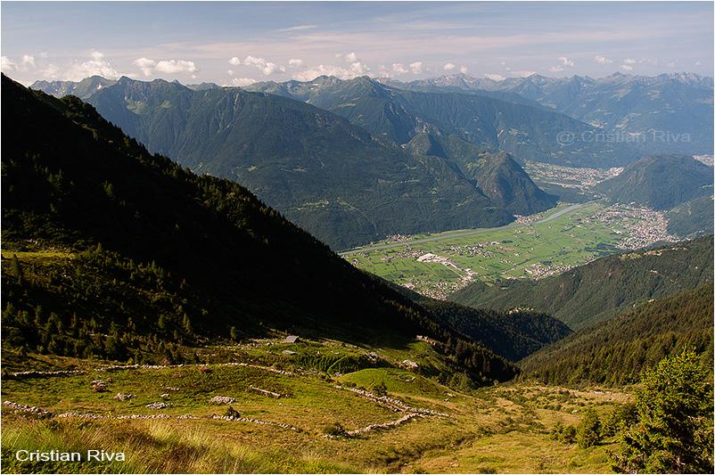Pizzo Bello: panorama dall'alpe Vignone