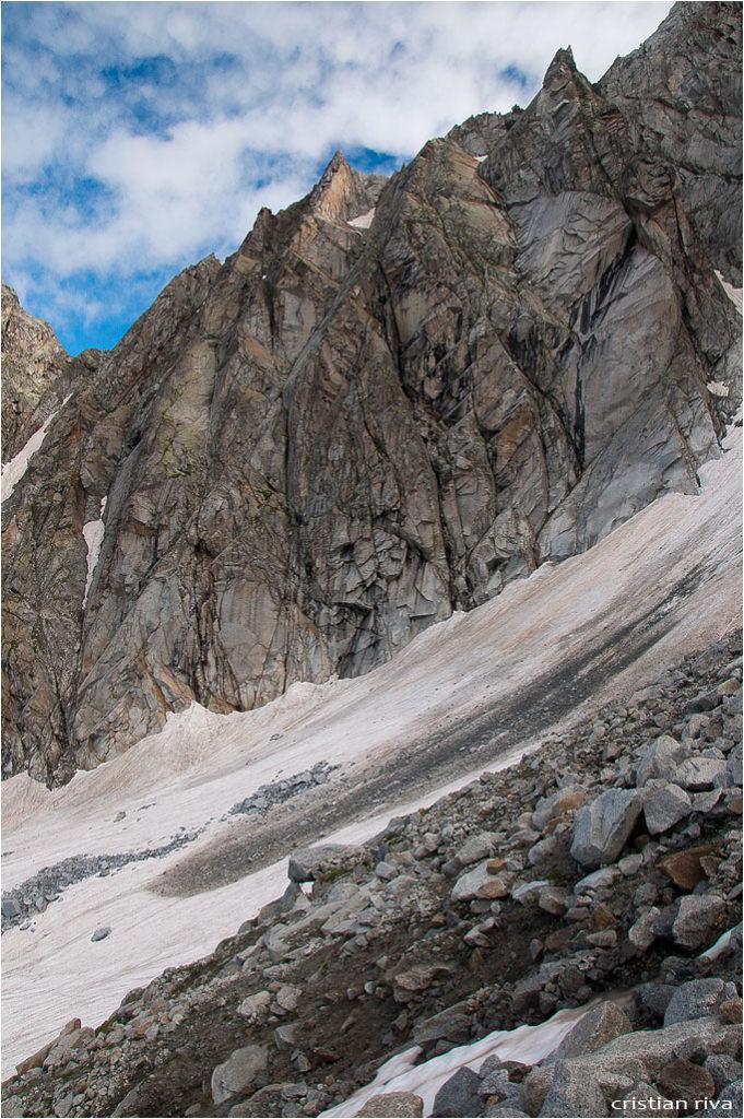 Monte Adamello via Terzulli: verso la via attrezzata Terzulli