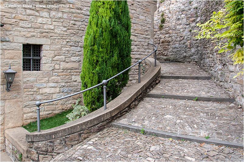 Bergamo, scaletta di via Paradiso