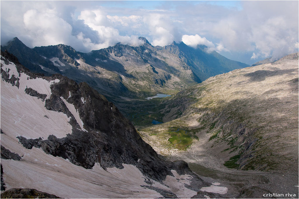 Monte Adamello via Terzulli: uno sguardo alle spalle sulla Val Miller