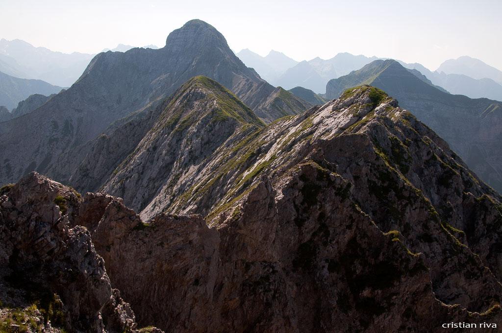 Monte Pegherolo: la lunga cresta