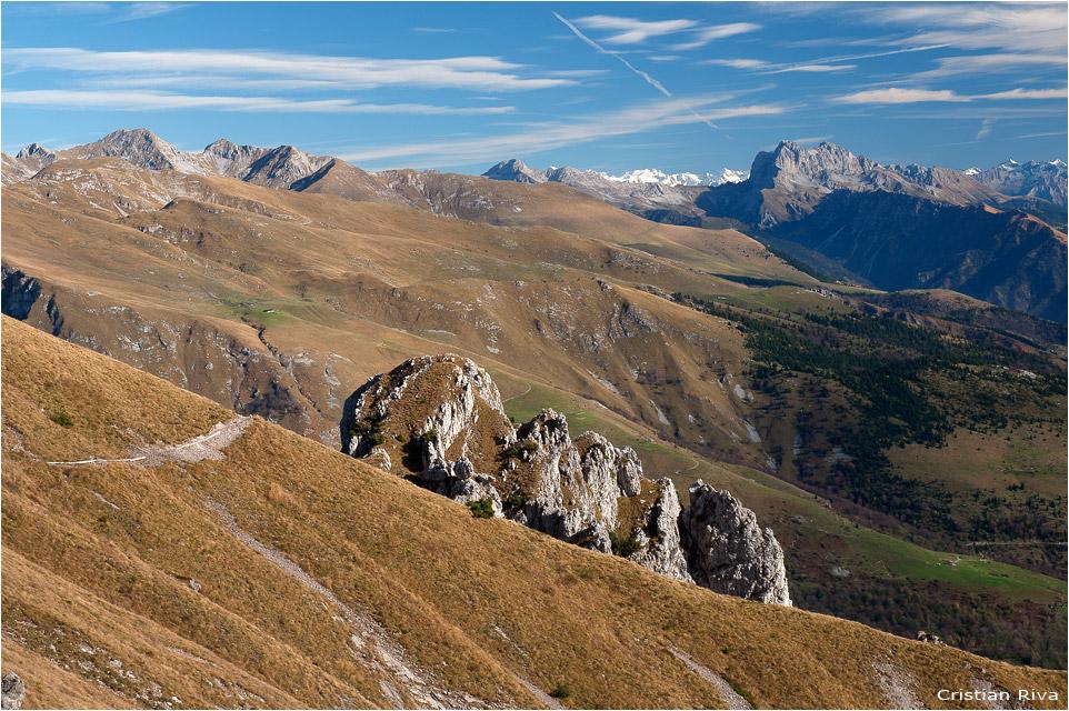 Escursione sul monte Alben: la Presolana