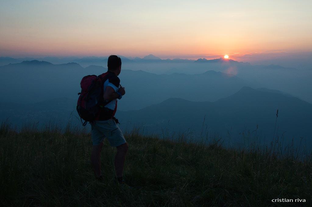 Alba sul monte Linzone