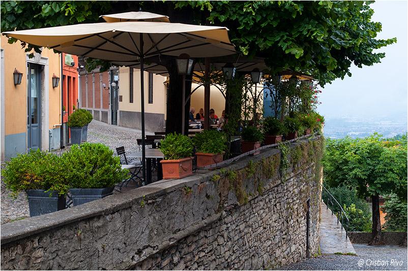 Bergamo, scaletta dello Scorlazzone