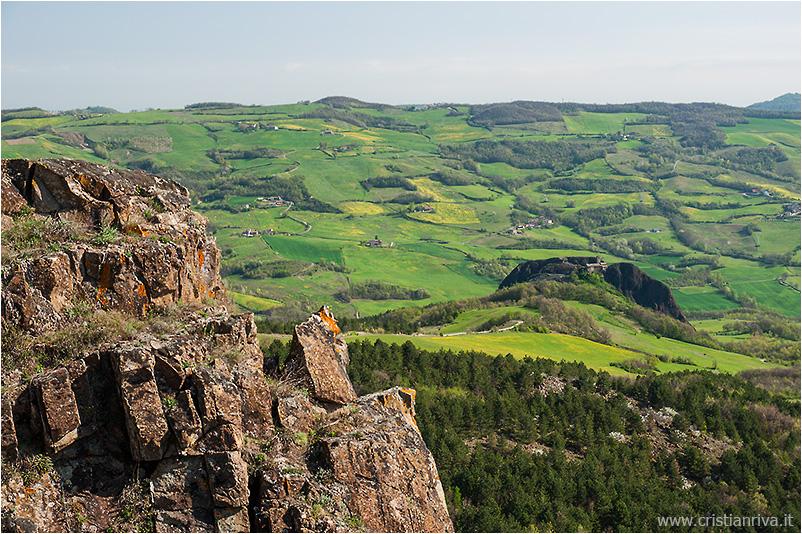 Pietra Parcellara e Pietra Perduca: colline piacentine