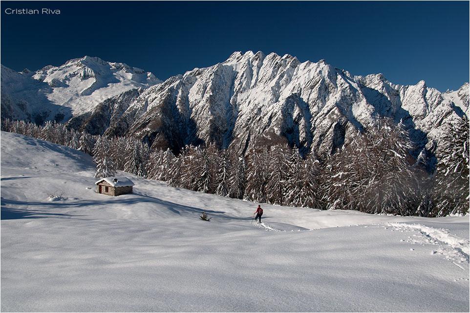 Ciaspolata all' Alpe Granda