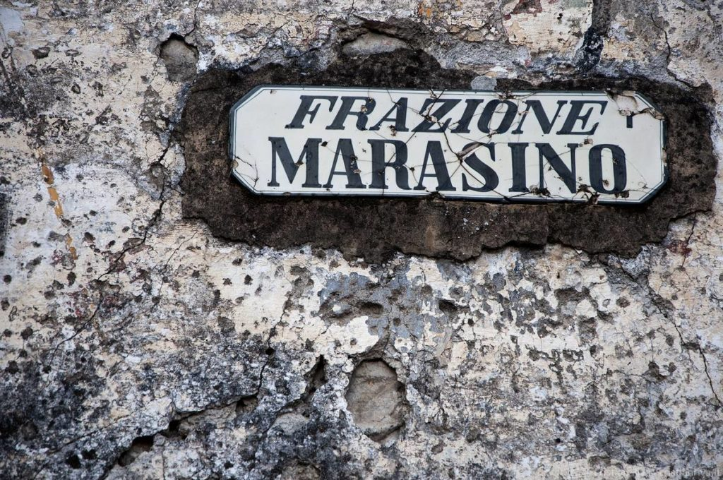 Antica strada Valeriana: frazione Marasino