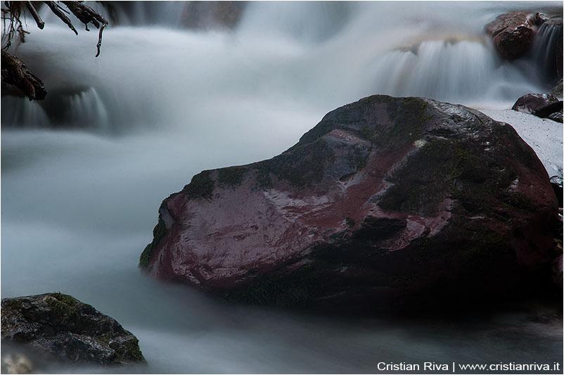 Anello Monte Avert: torrente a Spiazzi d'Acqua