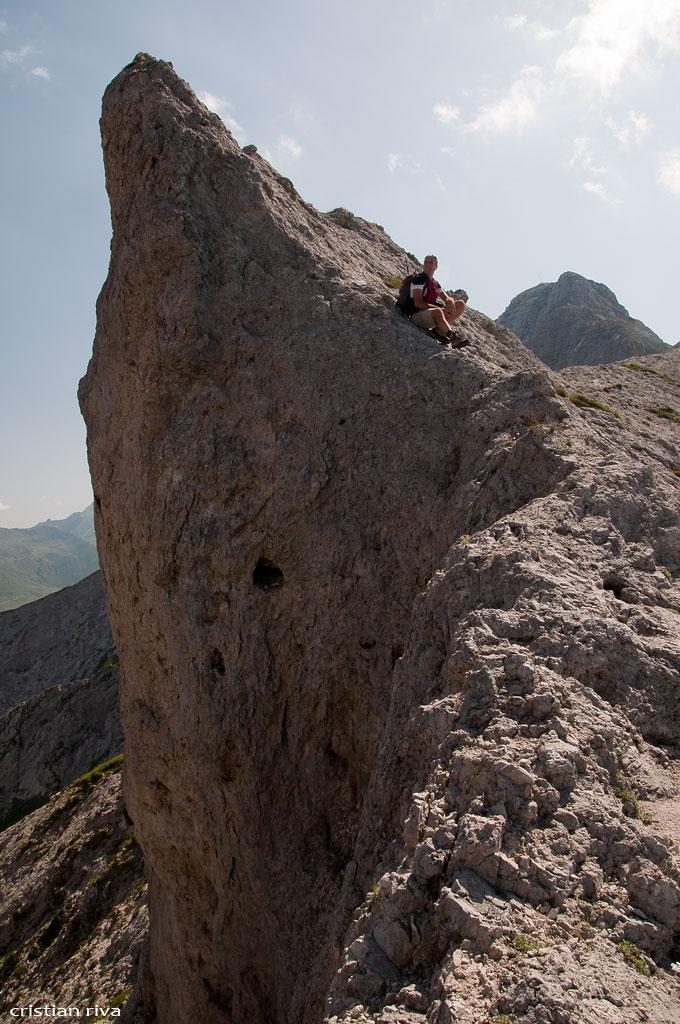 Monte Pegherolo: al passo della Piodessa
