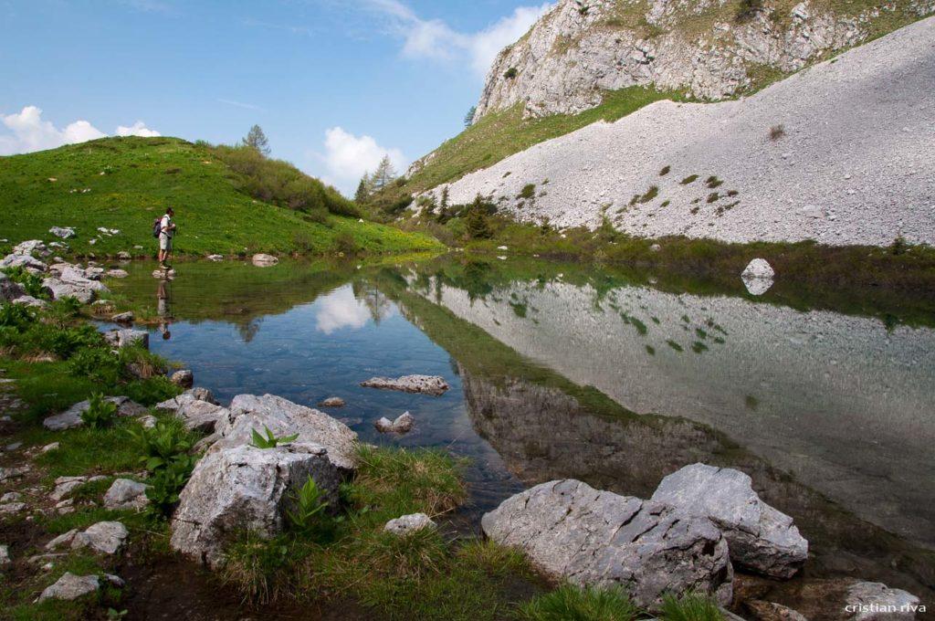 Pizzo di Petto e Vigna Vaga: lago Spigorel