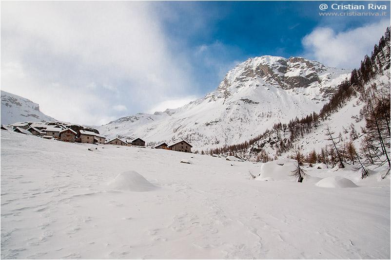 Ciaspolata Alpe Lendine: la meta, l'Alpe Lendine