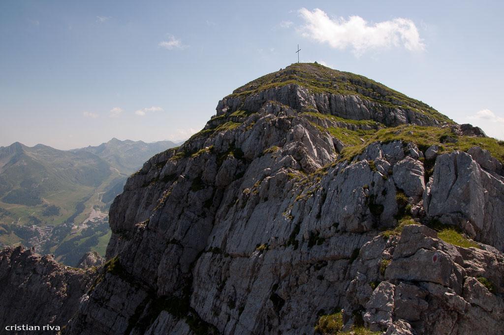 Monte Pegherolo: verso la vetta