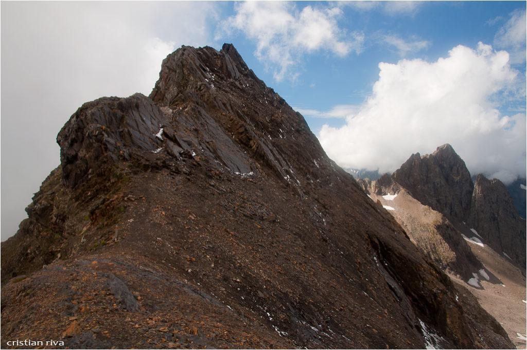 Monte Gleno: ultimo tratto prima della vetta