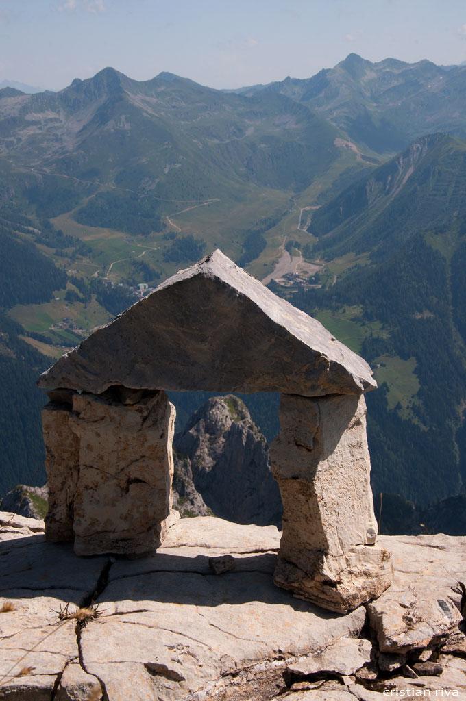Monte Pegherolo: in vetta!