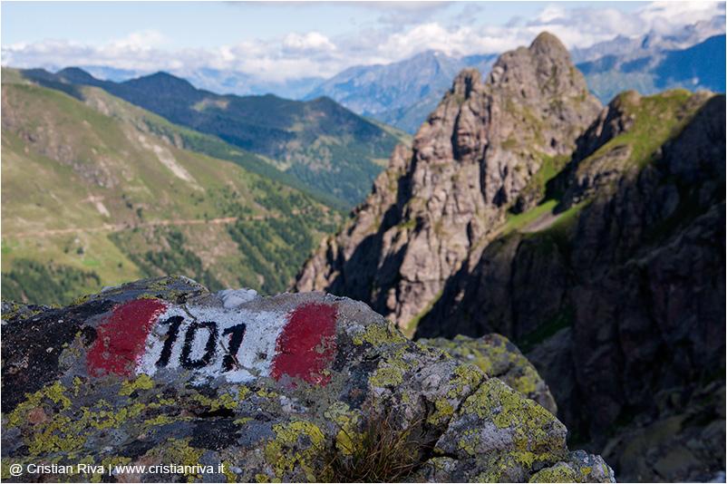 Pizzo Tre Signori: sentiero delle Orobie 101 CAI