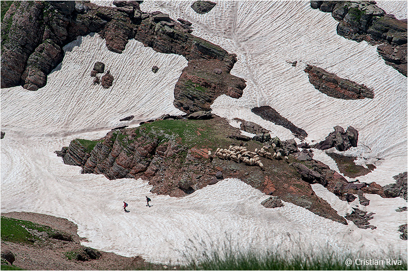 Monte Pradella: escursionisti