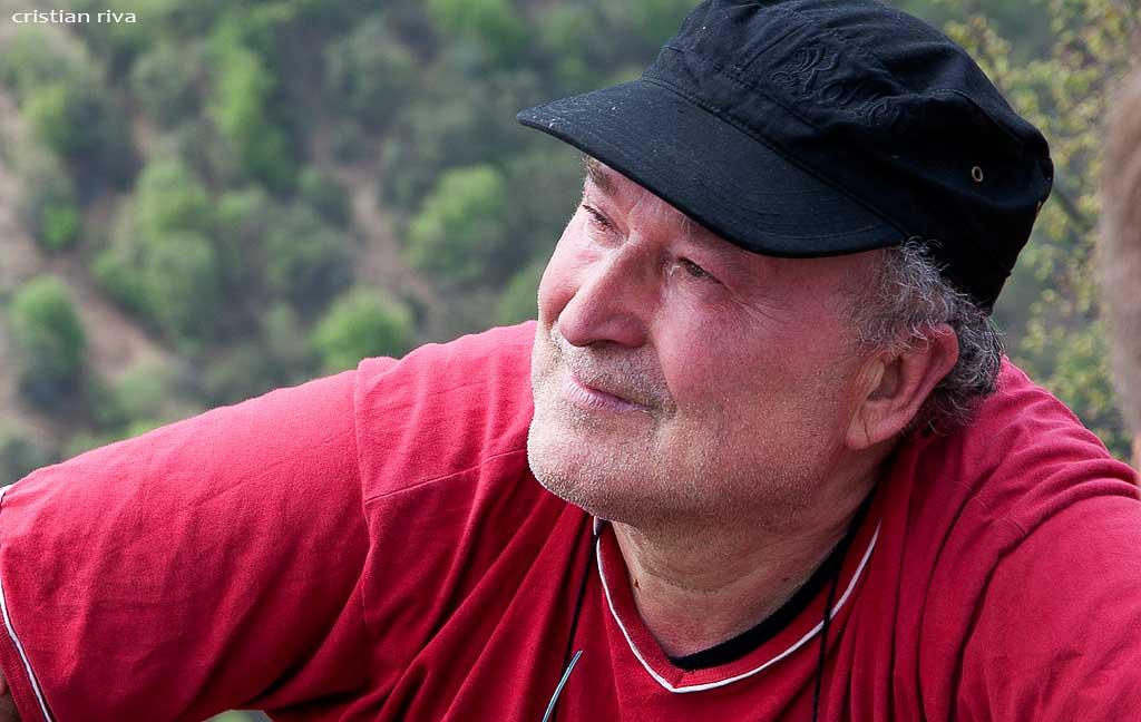 Camminata anniversario della Corna Lunga: Francesco, uno dei posatori della croce