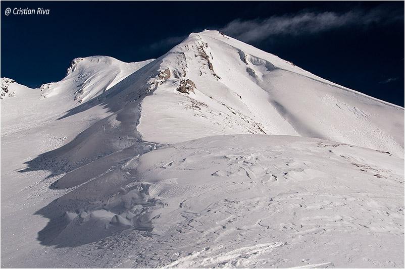 Monte Frerone in invernale