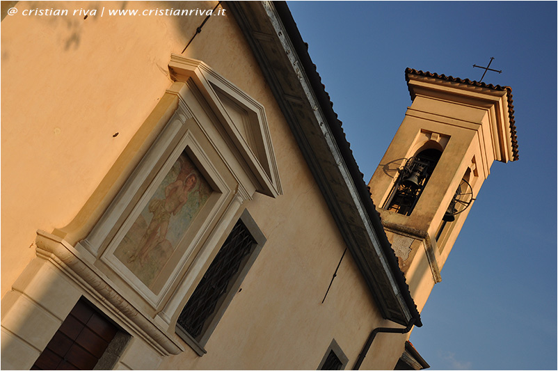 Bergamo, sentiero Ilaria: chiesetta di San Sebastiano