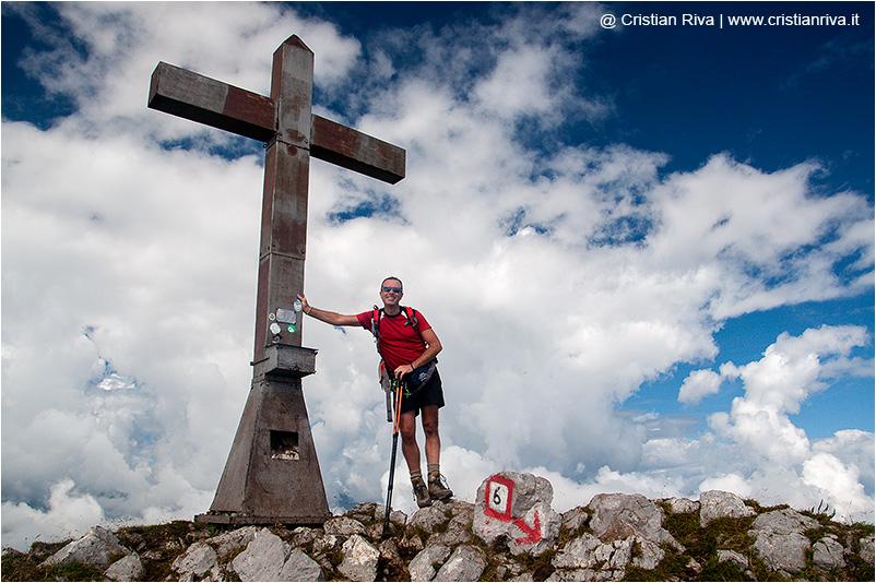 Cimon della Bagozza, l'obelisco