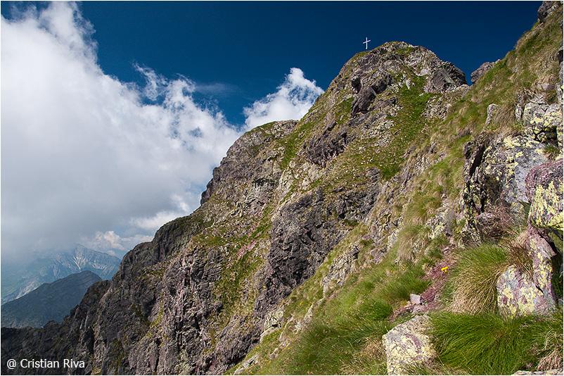 Monte Pradella: la croce di vetta