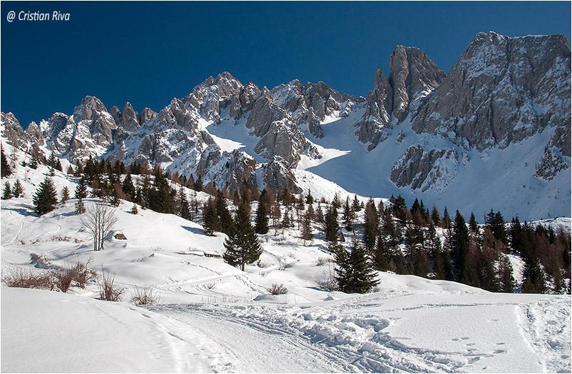 Monte Campioncino con le ciaspole