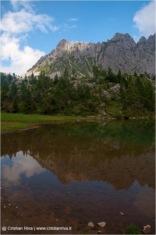 Cimon della Bagozza: laghetto dei Campelli