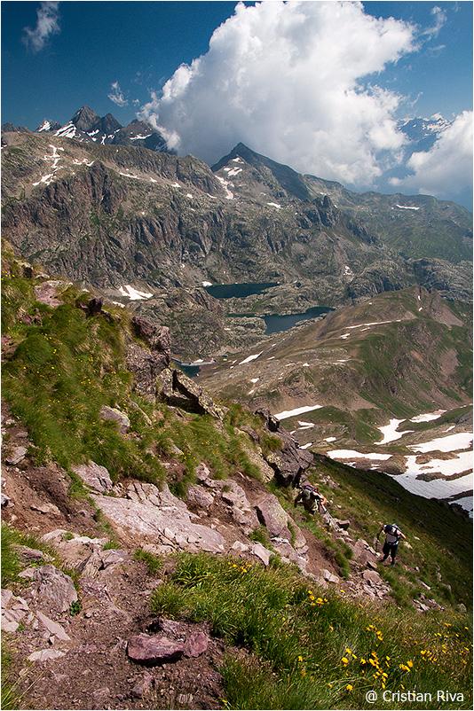 Monte Pradella: panorama