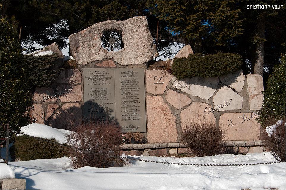 Ciaspolata sui Colli di San Fermo: 56^ Brigata Garibaldi