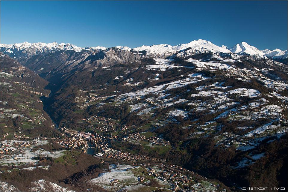 Escursione sul monte Molinasco: panorama