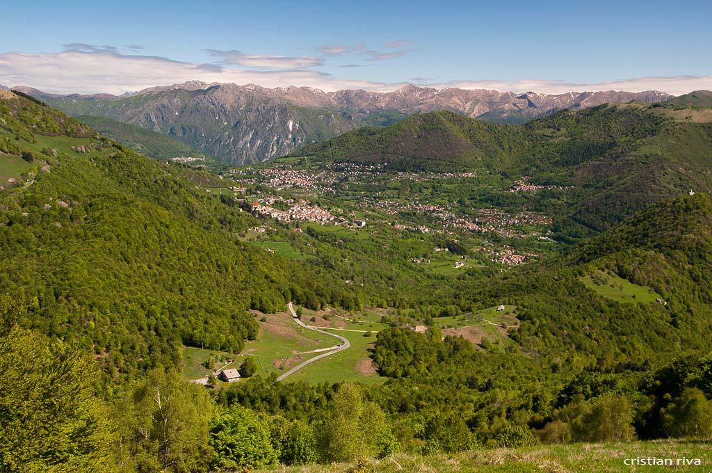 Sasso Gordona ad anello: valle d'Intelvi