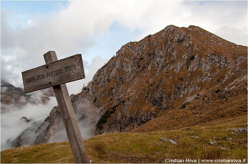 Monte Avert in Valle Sedornia