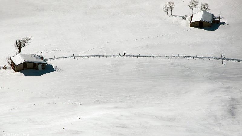 Ciaspolata sull'altopiano di Bossico